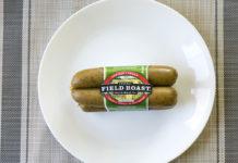Field Roast Smoked Apple Sage Sausage package