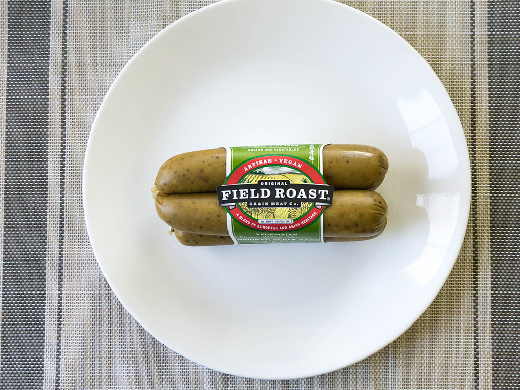 Field Roast Smoked Apple Sage Sausage package