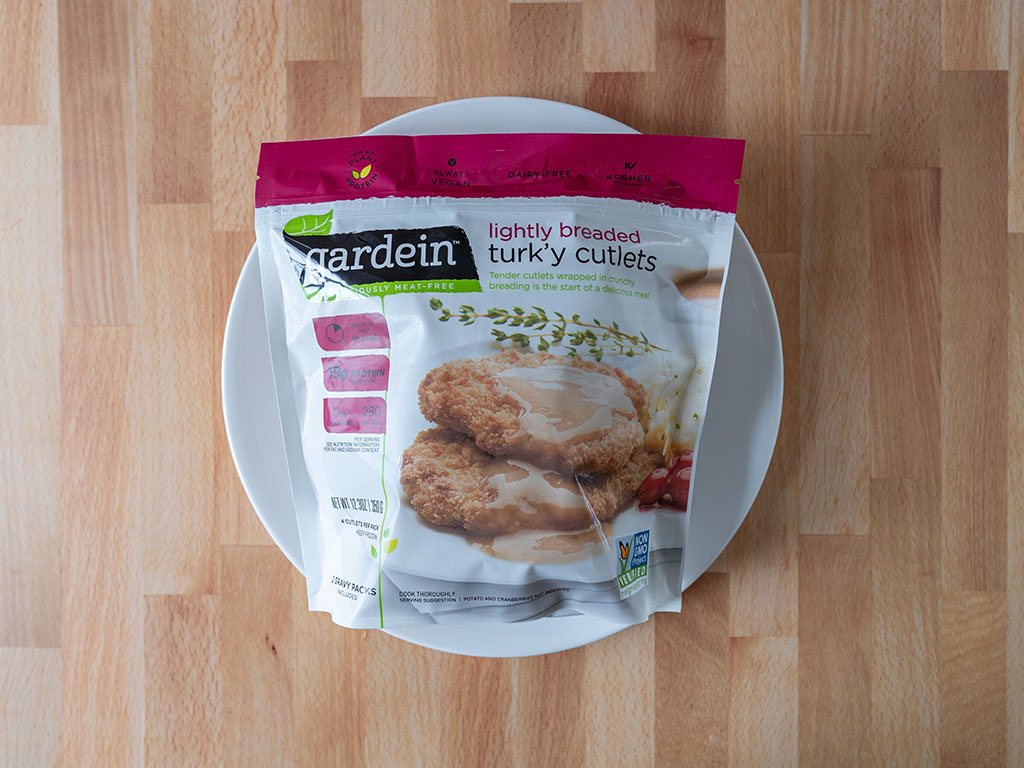 Gardein Lightly Breaded Turk'y Cutlets