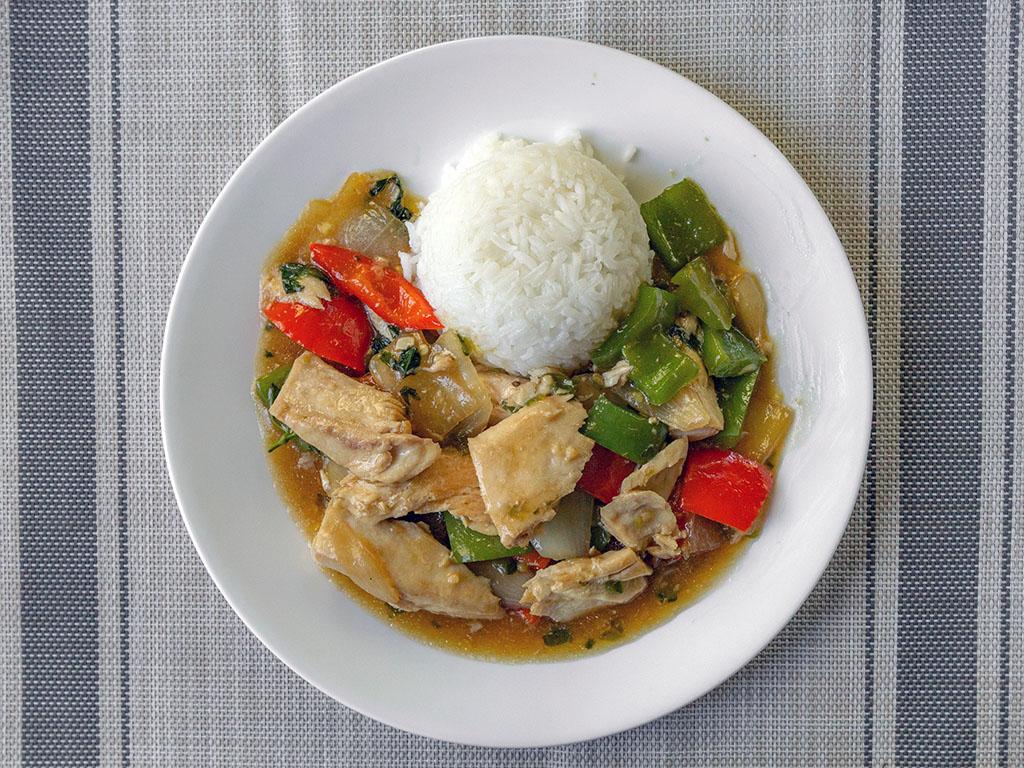 Walmart Mahi Mahi in Thai basil sauce