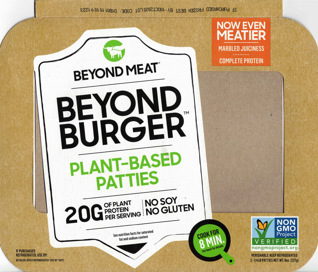 Beyond Burger Jan 2020 reformulation package front