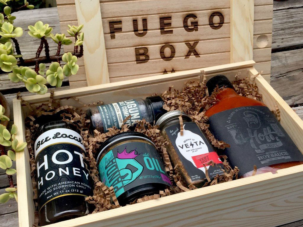 Fuego Box hot sauce gift box