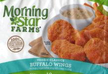 MorningStar Farms Buffalo Wings packaging front
