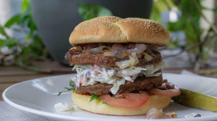 MorningStar Farms grillers originals double burger