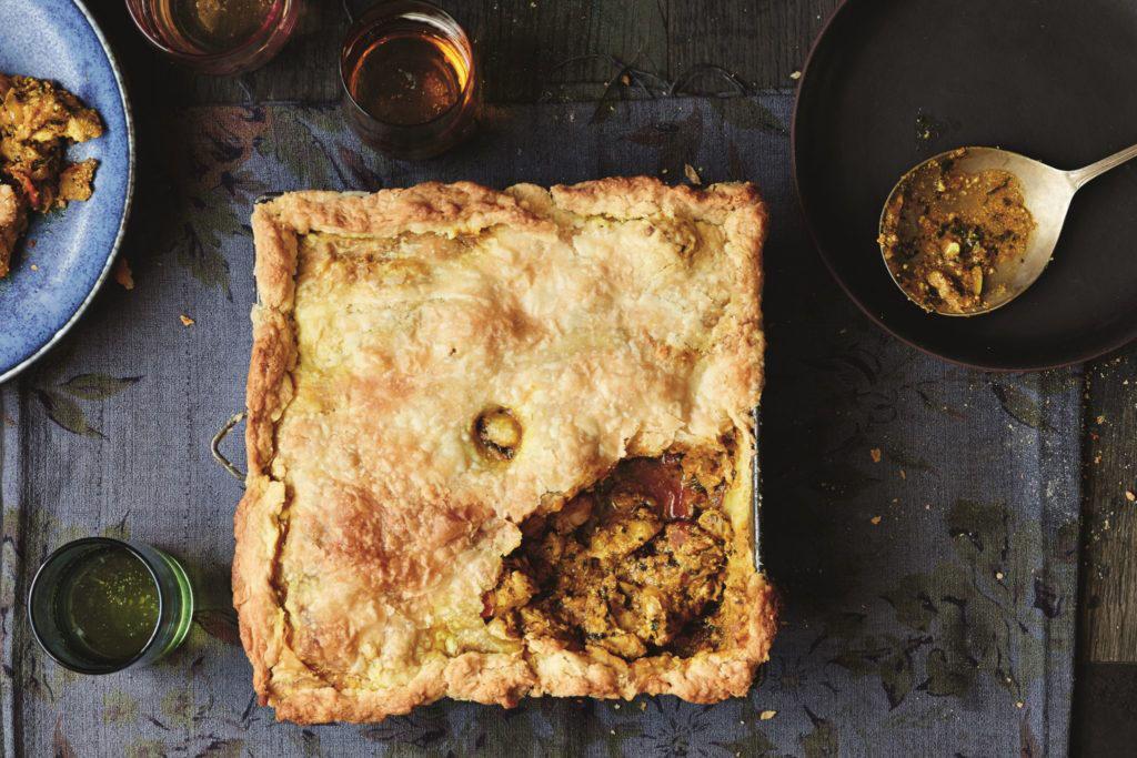 The Really Quite Good British Cookbook - Atul Kochar tikka masala pie