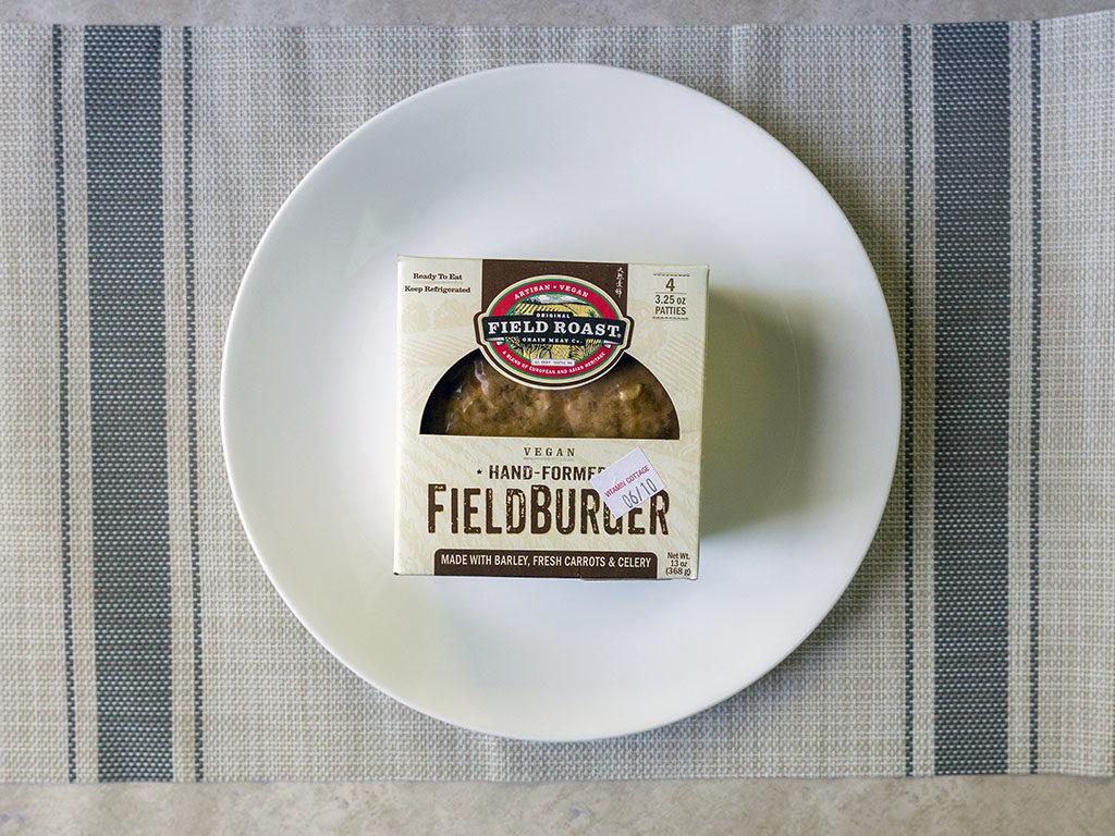 Field Roast FieldBurger box