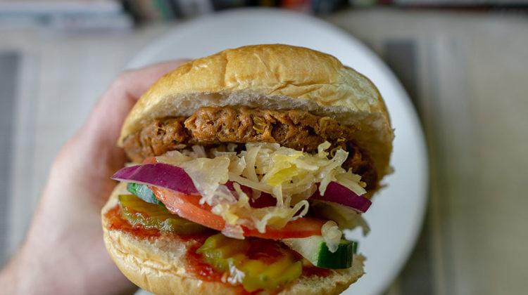 Field Roast Fieldburger veggie burger