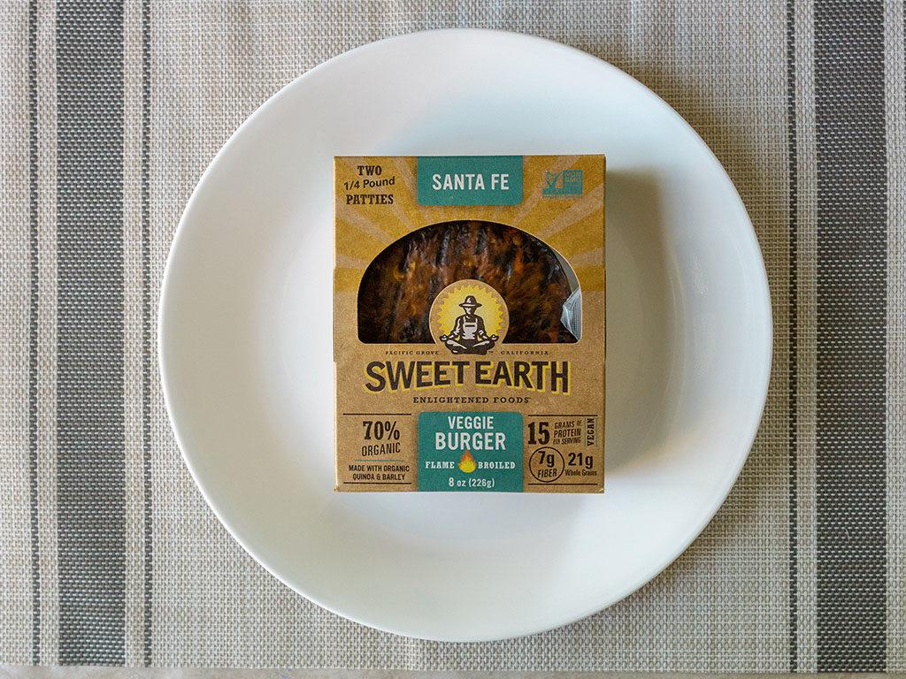 Sweet Earth Sante Fe Veggie Burger