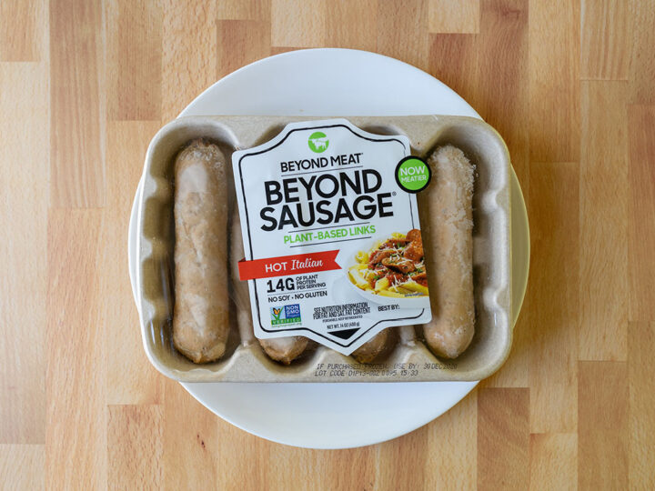 The Beyond Sausage Hot Italian 2020