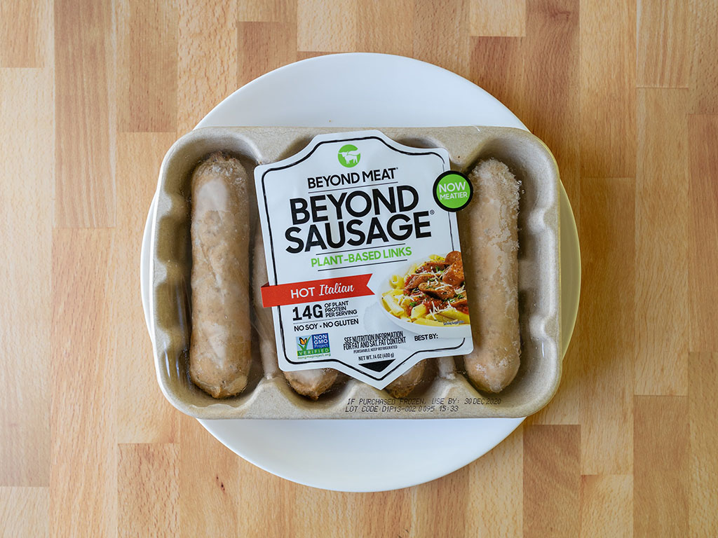 The Beyond Sausage Hot Italian 2020