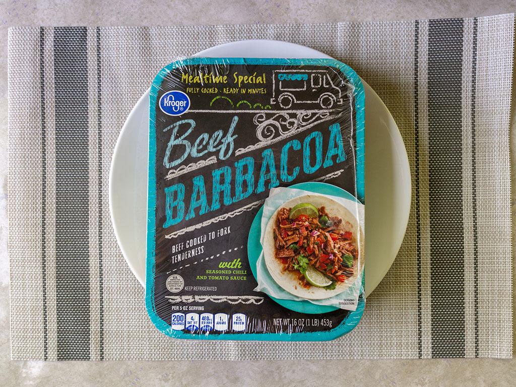 Kroger Beef Barbacoa
