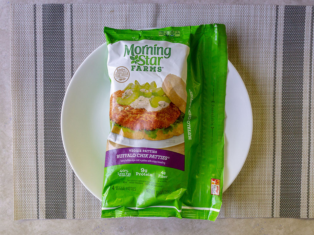 Review- MorningStar Farms Buffalo Chik Patties