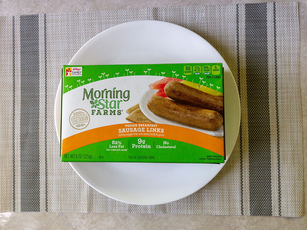 Review Morningstar Farms Veggie Breakfast Sausage Links Shop Smart