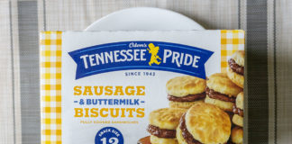 Odom's Tennessee Pride Sausage And Buttermilk Biscuits