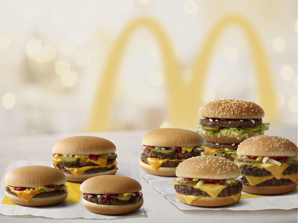 Burgers no longer with artificial preservatives (McDonald's)