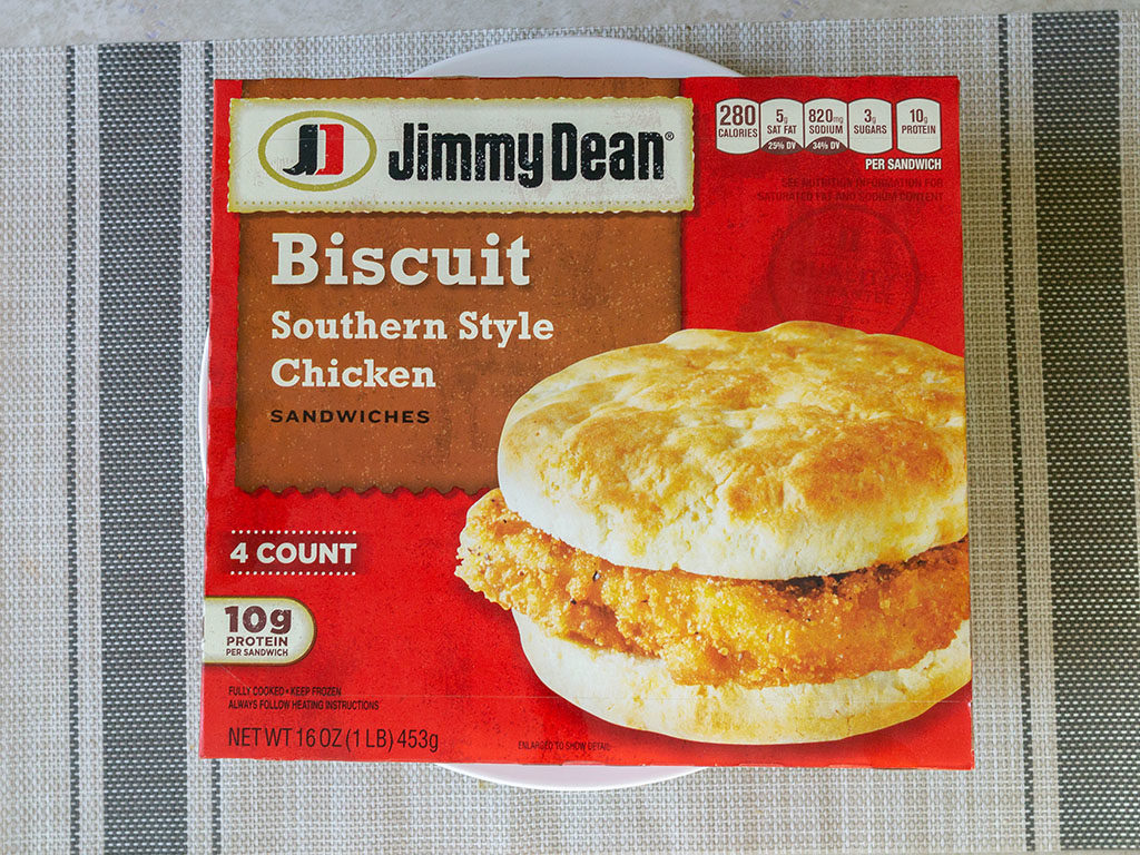Jimmy Dean Southern Style Chicken Biscuit