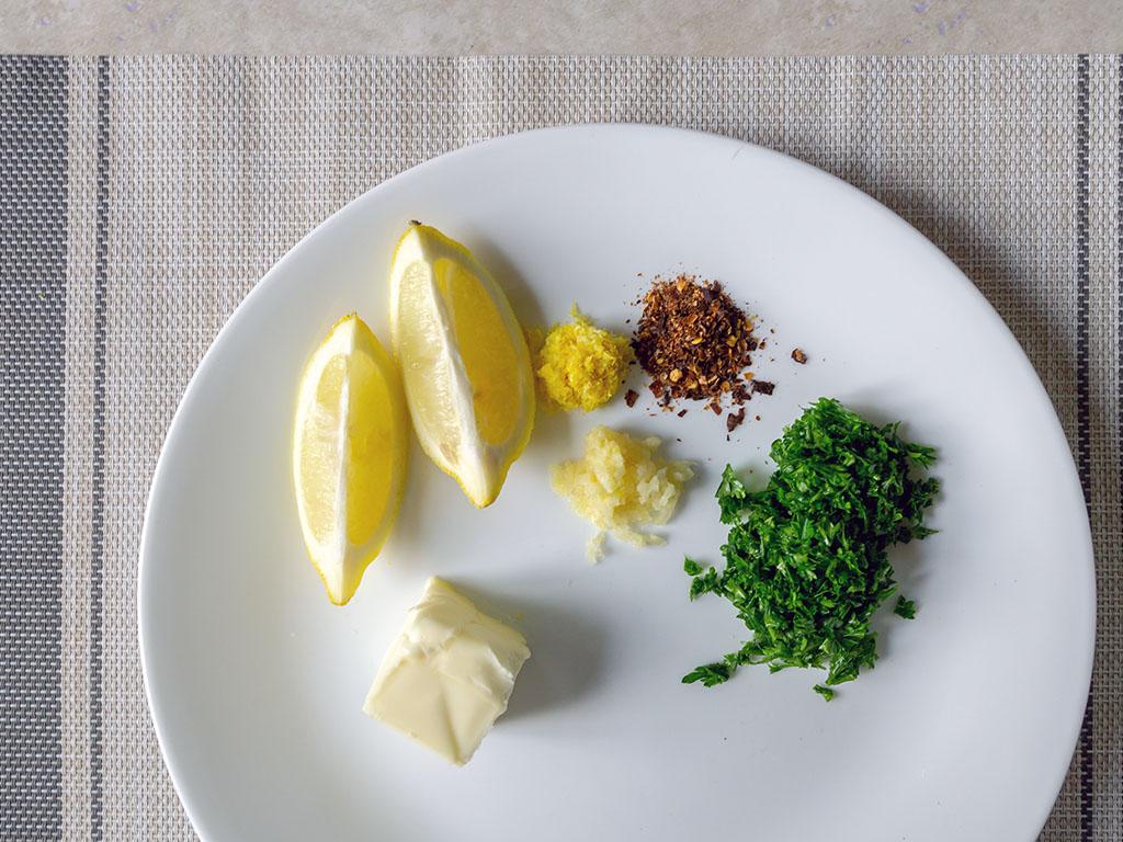 Lemon parsley sauce for fish ingredients