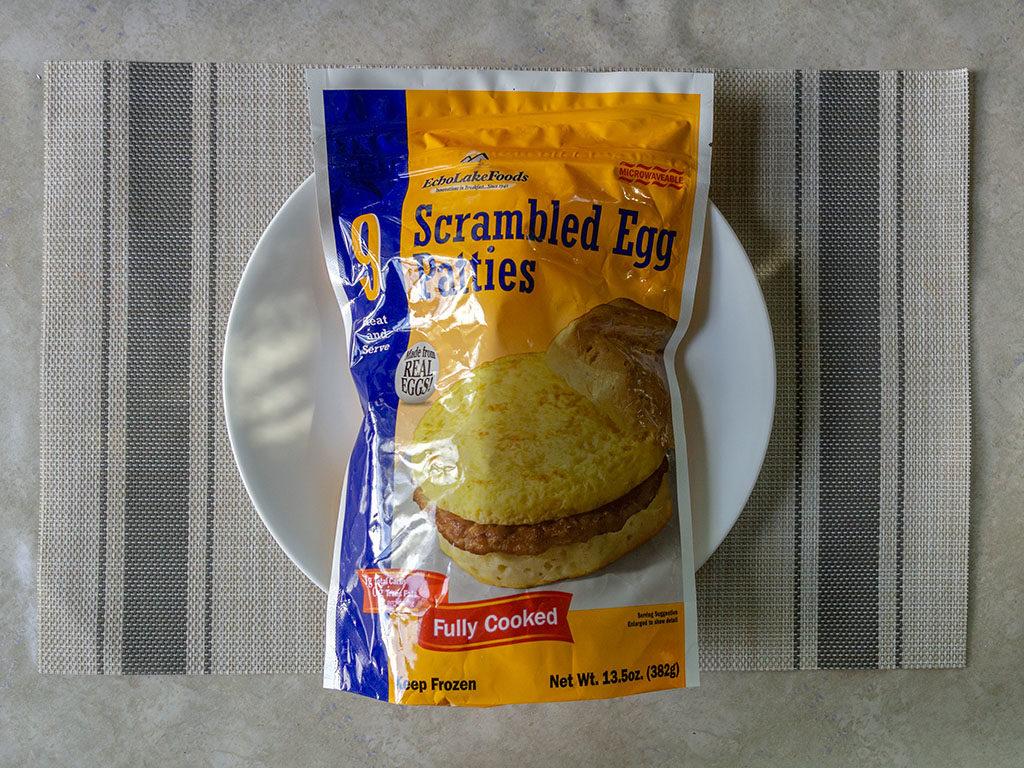 Echo Lake Foods Scrambled Egg Patties