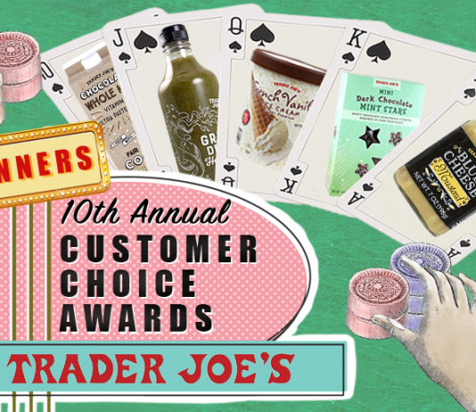 Customer Choice Winners (Trader Joe's)
