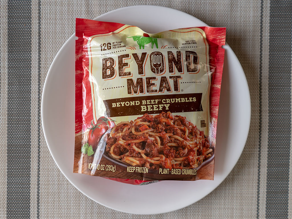 Beyond Meat Beef Cumbles
