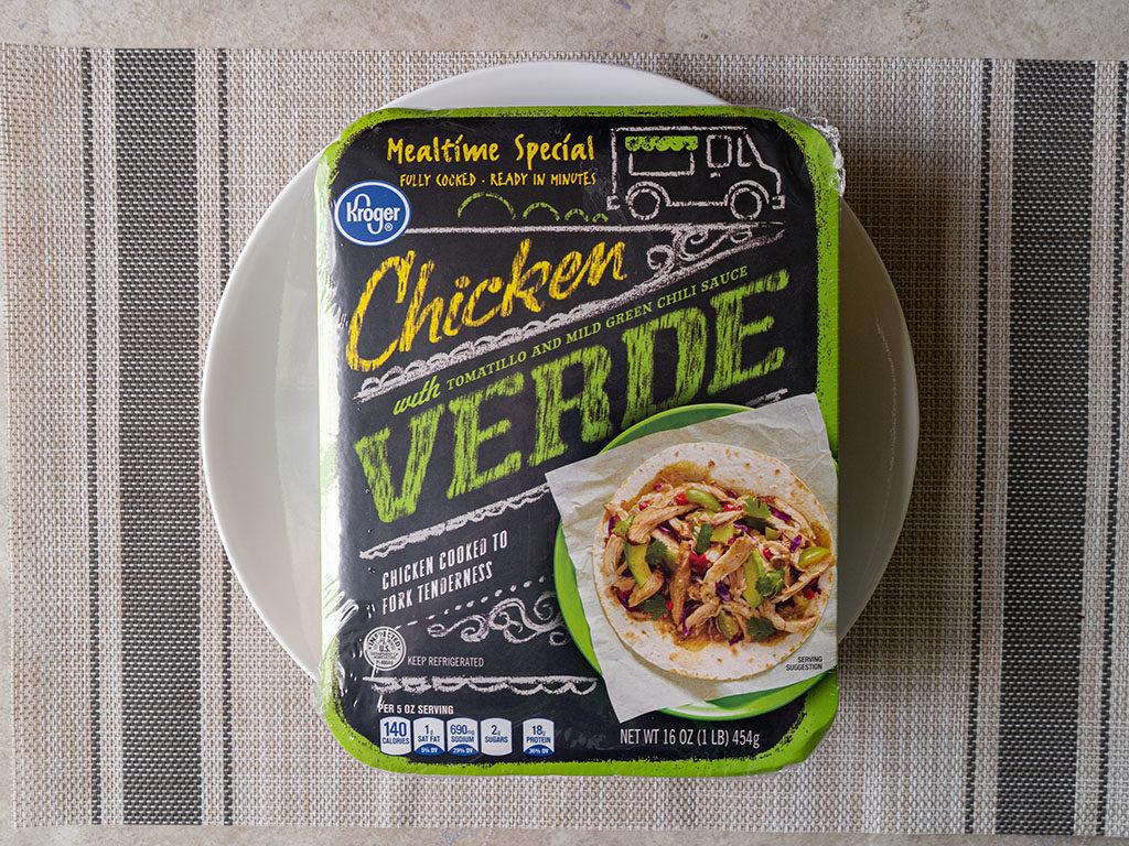 Kroger Chicken Verde