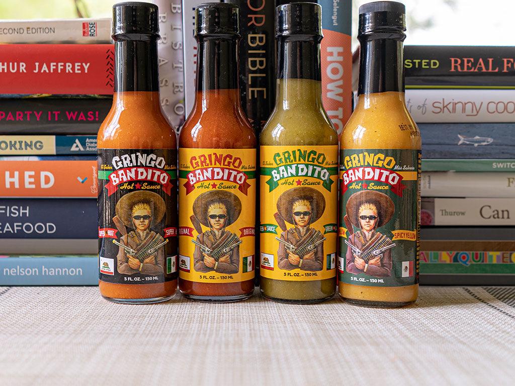 Gringo Bandito hot sauces