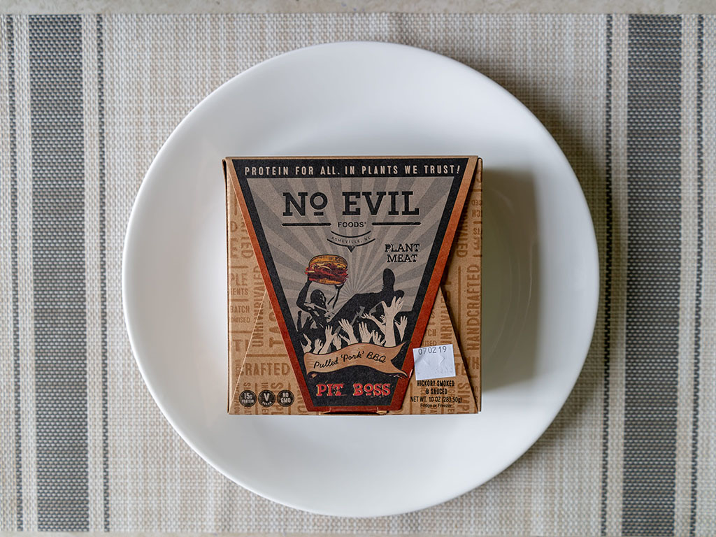 No Evil Foods Pulled Pork BBQ