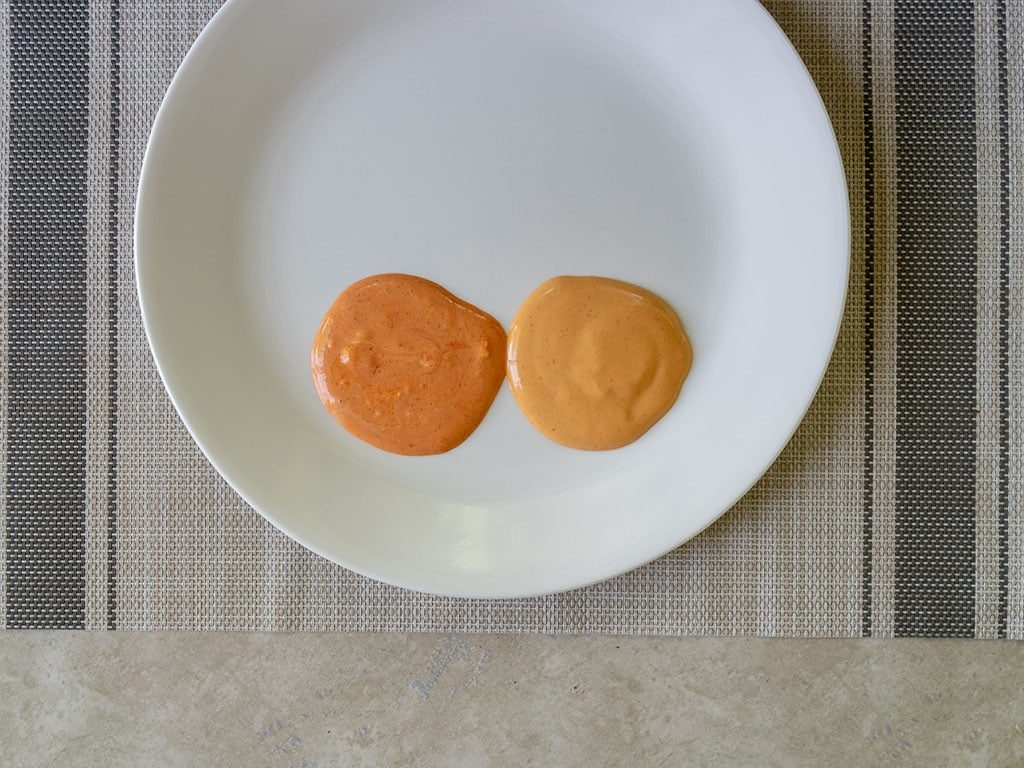 Sarayo Sriracha Mayo comparison