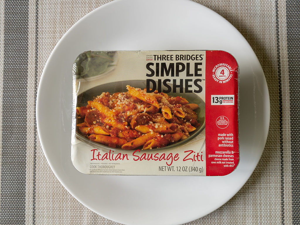 Three Bridges Italian Sausage Ziti