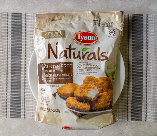 Tyson Naturals Breaded Chicken Breast Nuggets