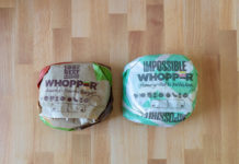 Regular and impossible whopper side by side
