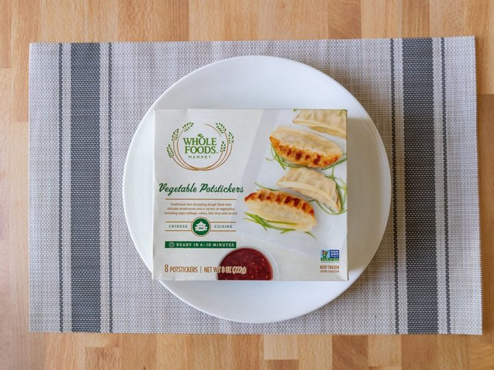 Whole Foods Vegetable Potstickers