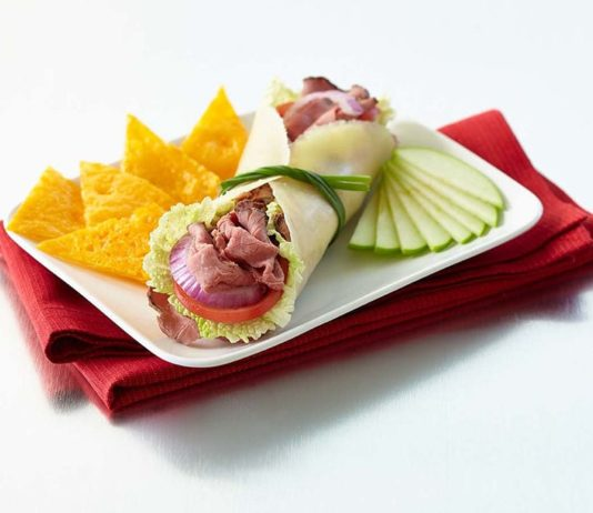 Folios Cheese Wraps from Lotito Foods