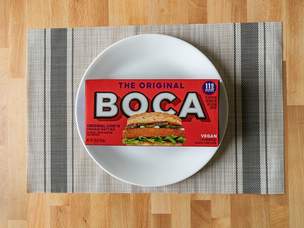 Boca Original Chick'N Veggie Patties