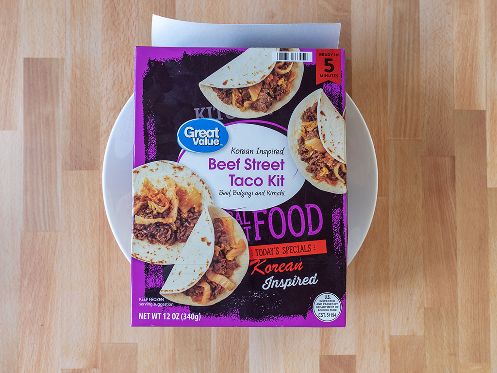 Great Value Korean Inspired Beef Street Taco Kit