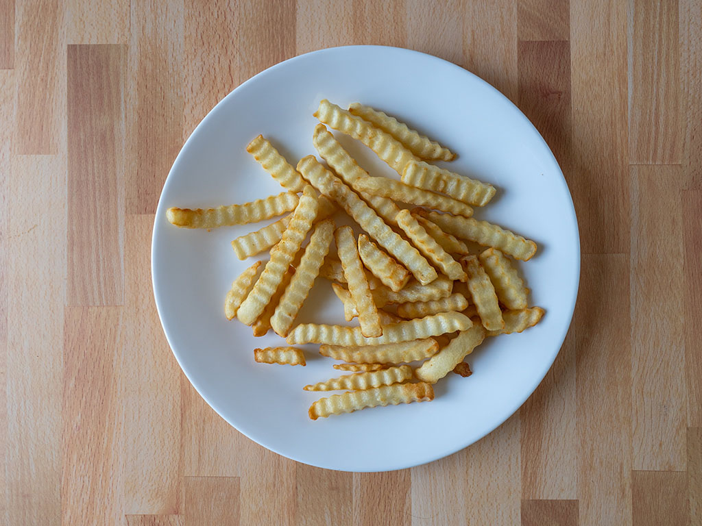 365 Organic Crinkle Cut Fries