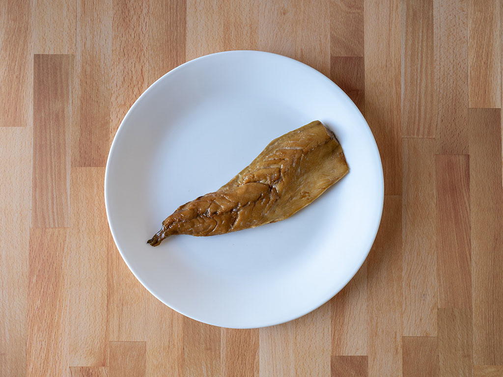 Ducktrap Smoked Wild Mackerel Fillet single fillet