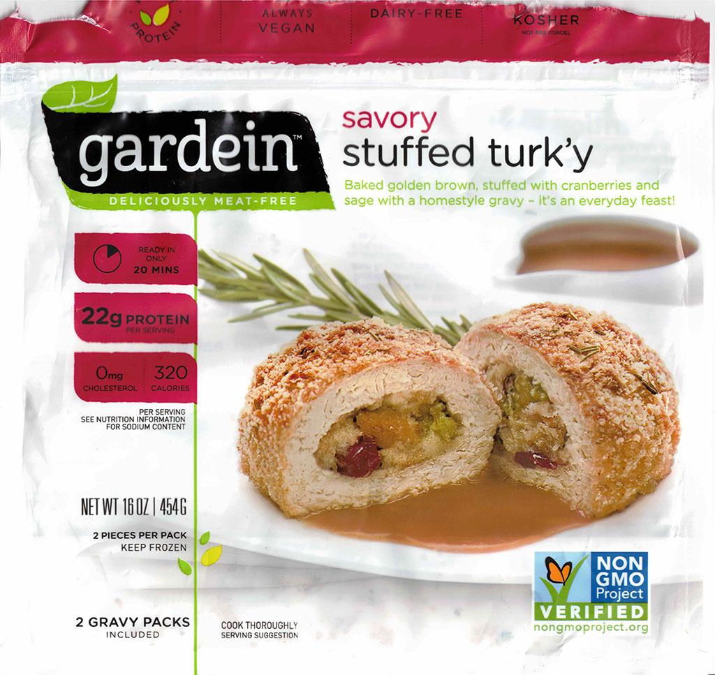 Gardein Savory Stuffed Turk'y package front