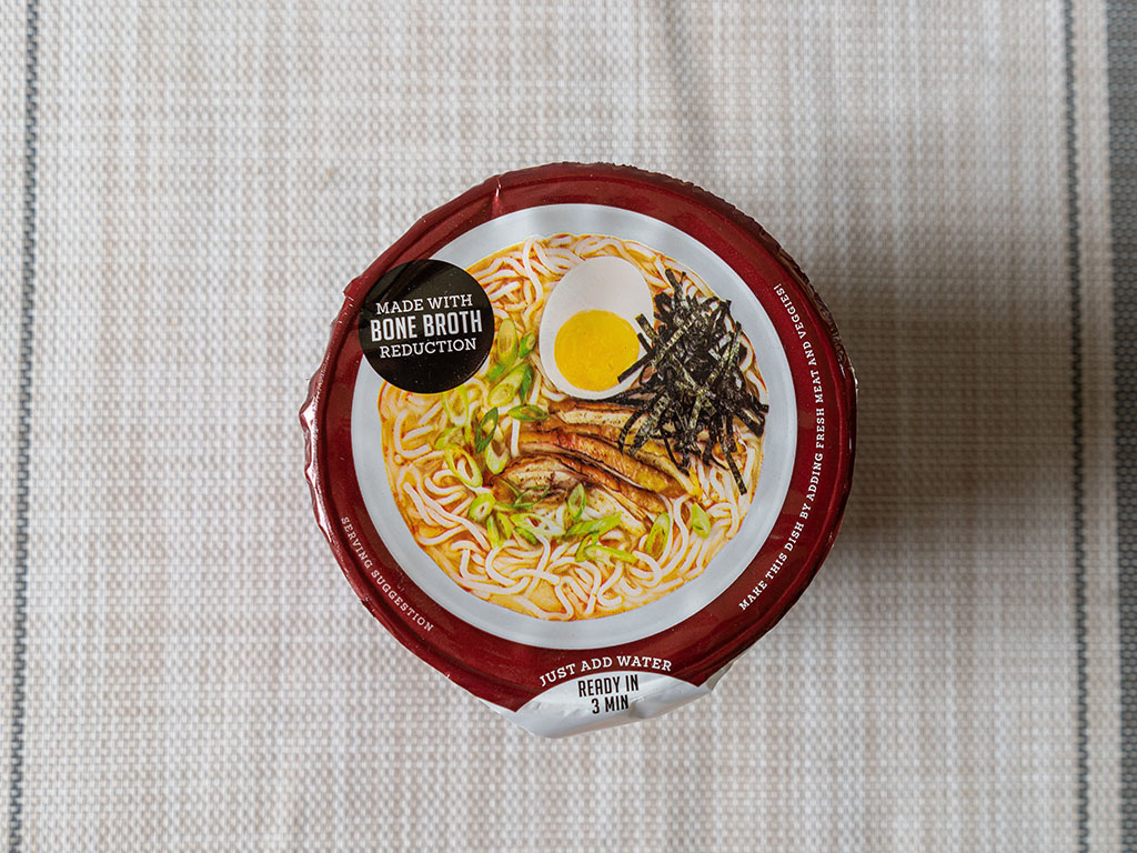 One Culture Foods Japanese Spicy Ramen package top