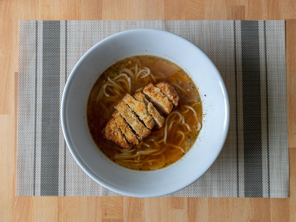 One Culture Foods Japanese Spicy Ramen with pork tonkatsu