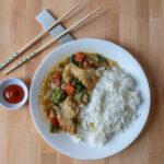 Sitka Alaskan cod in Thai basil sauce