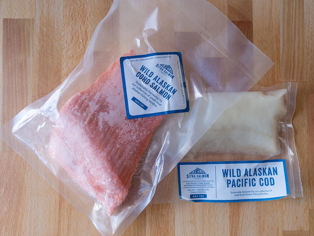 Sitka Salmon Share salmon and cod