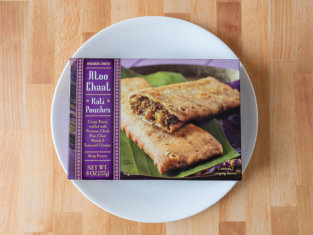 Trader Joe's Aloo Chaat Kati Pockets
