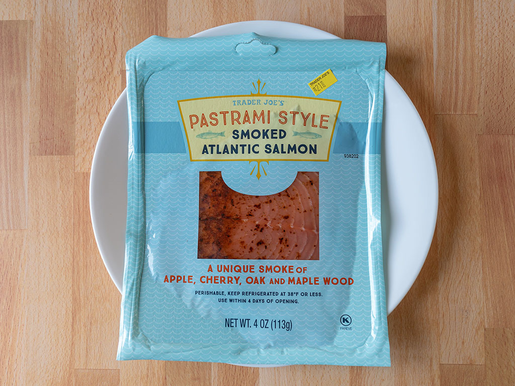 Trader Joe's Pastrami Style Smoked Atlantic Salmon