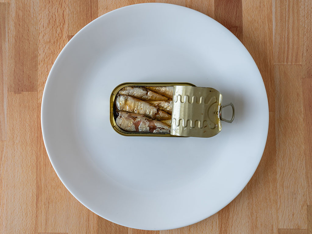 Jose Gourmet Smoked Small Sardines in the can