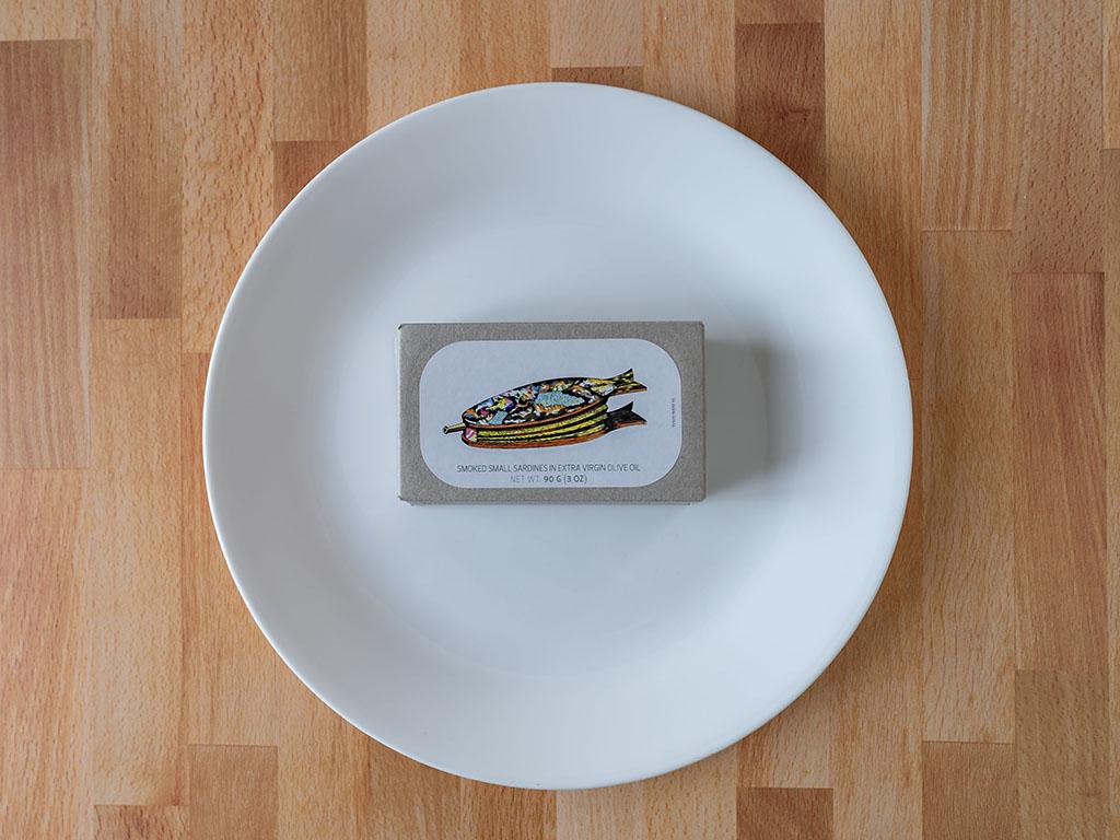 Jose Gourmet Smoked Small Sardines