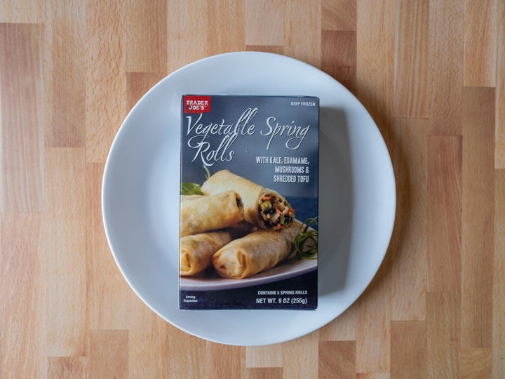 Trader Joe's Vegetable Spring Rolls