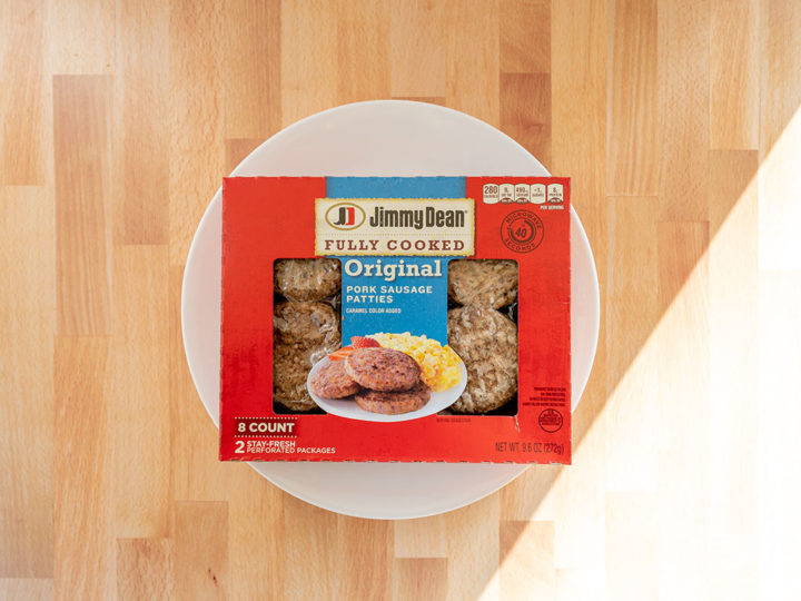 Jimmy Dean Fully Cook Pork Sausage Patties