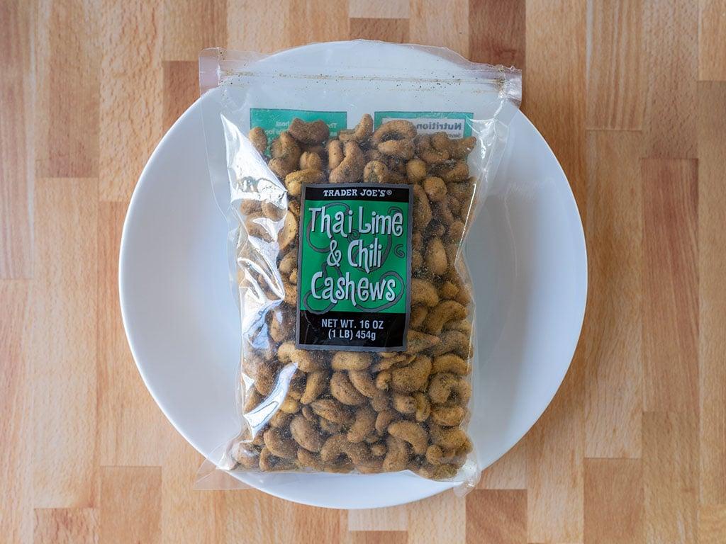 Trade Joe's Thai Lime And Chili Cashews