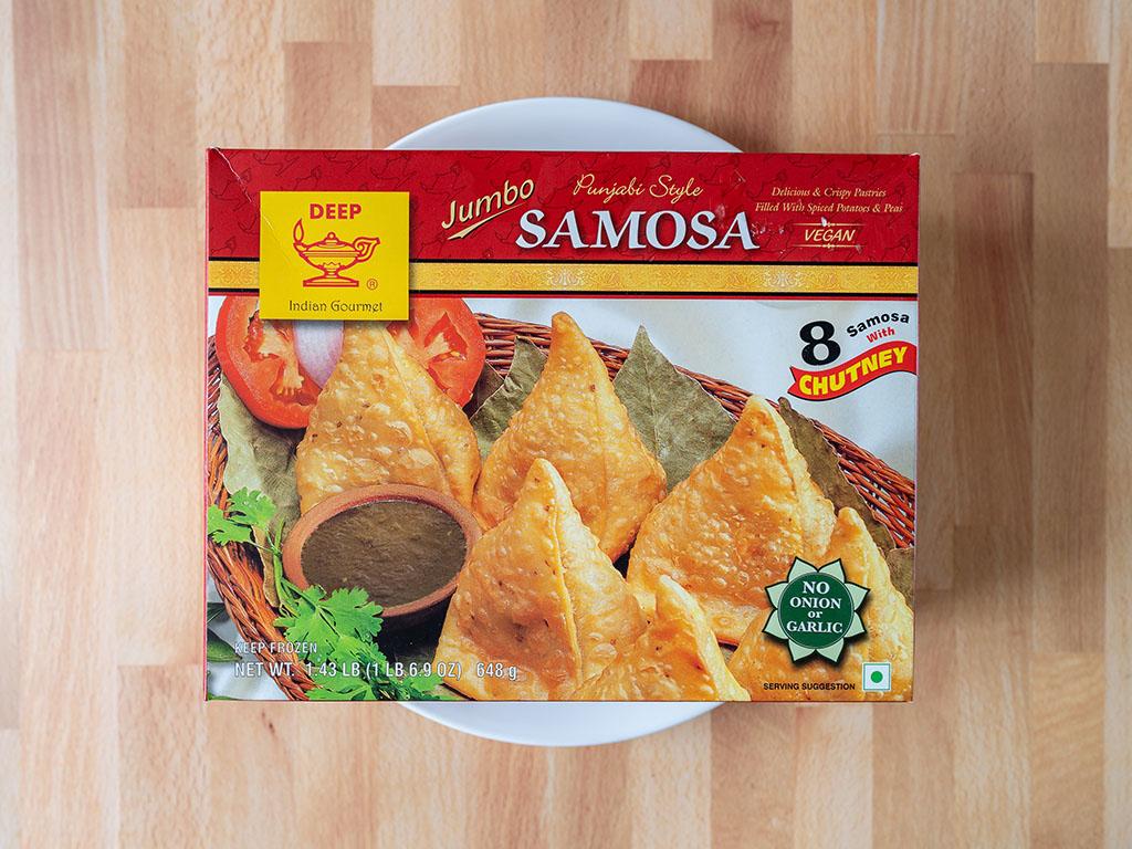 Deep Punjabi Style Jumbo Samosa